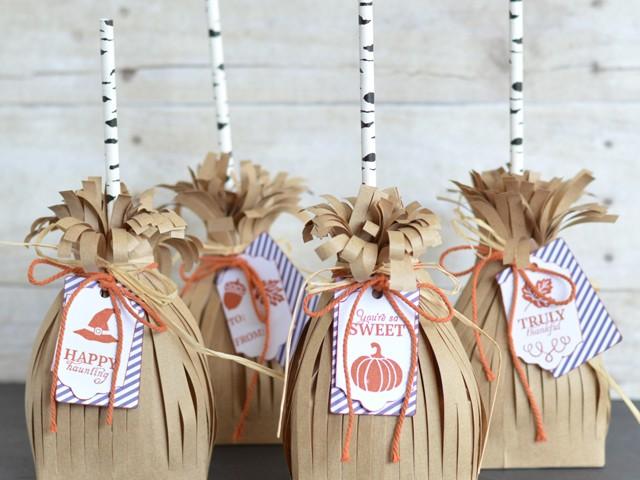 Broomstick Treat Bags