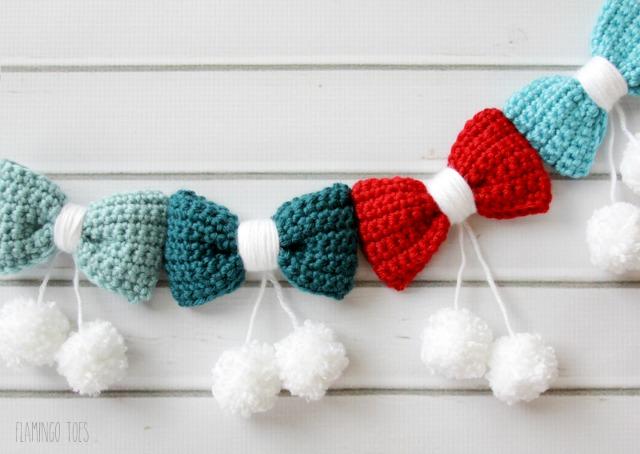 Crochet-Bow-Garland