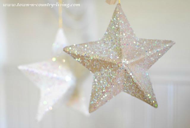 Glitter-Paper-Mache-Stars-3