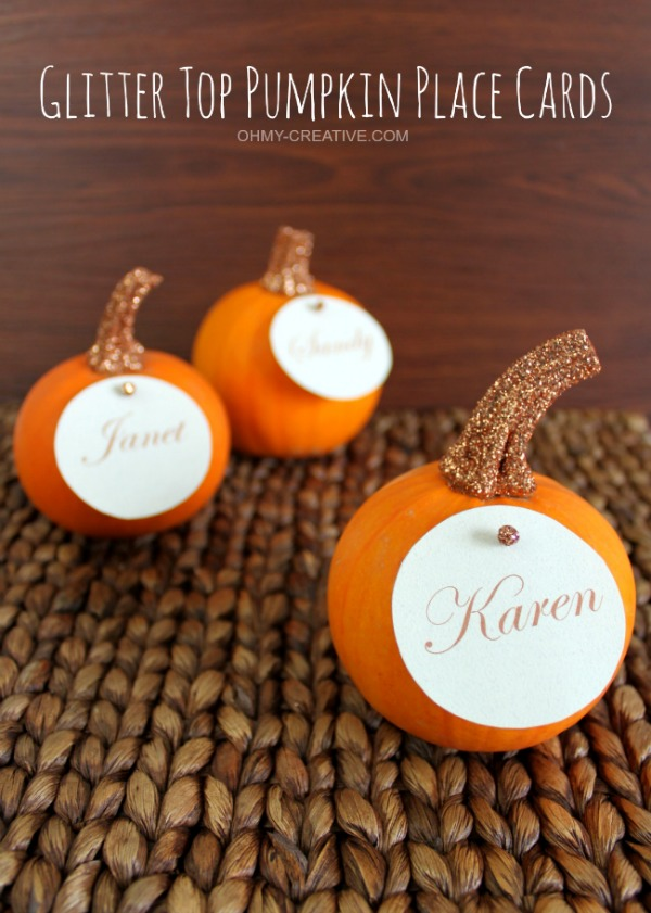 Glitter-Top-Pumpkin-Place-Cards-OHMY-CREATIVE.COM_