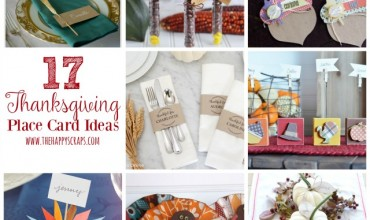 17 Thanksgiving Place Card Ideas