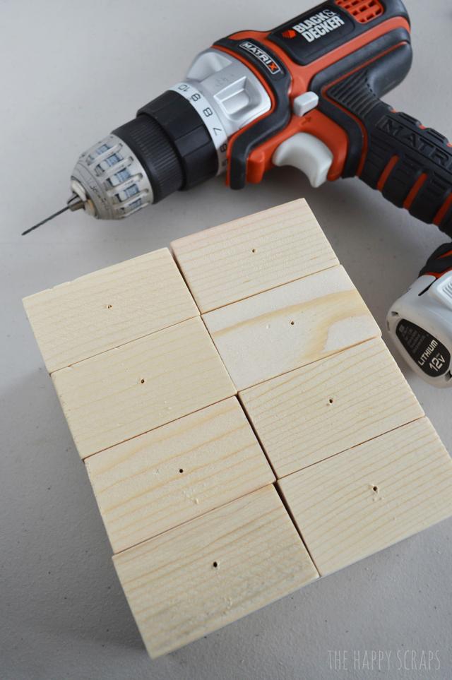 drill-holes
