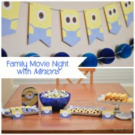 Family Movie Night with Minions