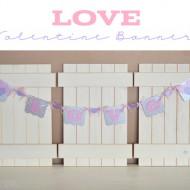 Valentine's Day Love Banner