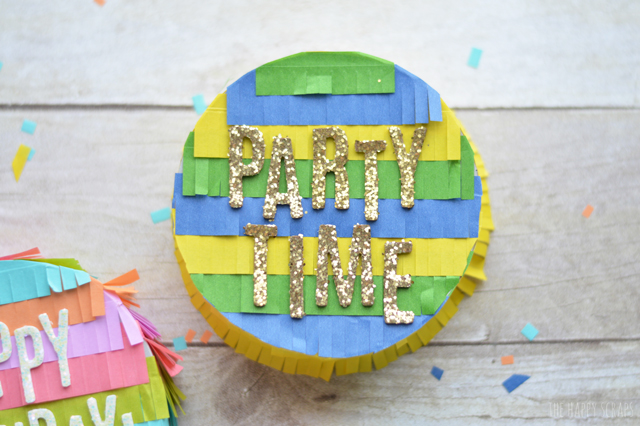 These DIY Mini Pinata's from We R Memory Keepers are so fun to put together and customize! Learn a few tips for them from @thehappyscraps.