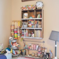 The Happy Scraps Craft Room Tour