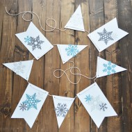 Winter Snowflake Banner