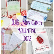 16 Non-Candy Valentine Ideas