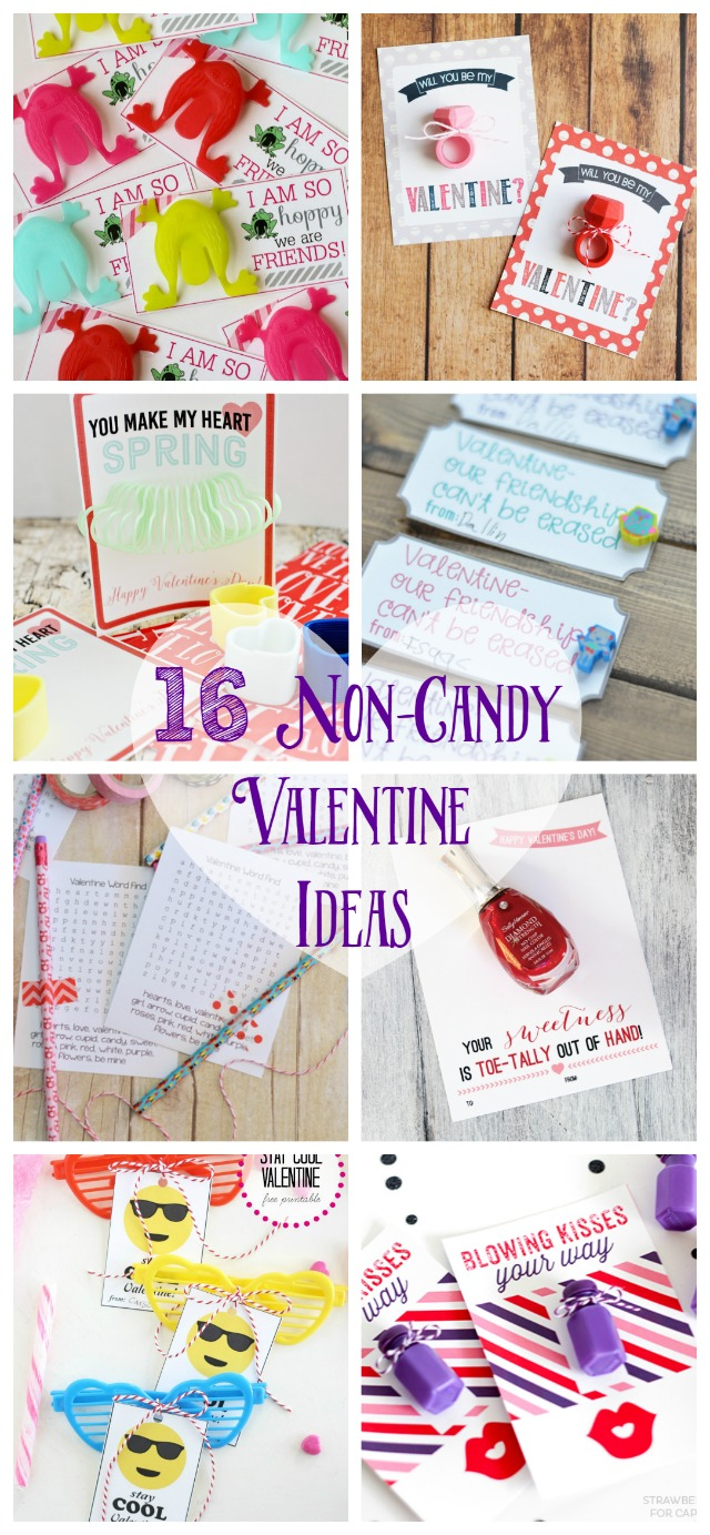 16 non candy valentine ideas