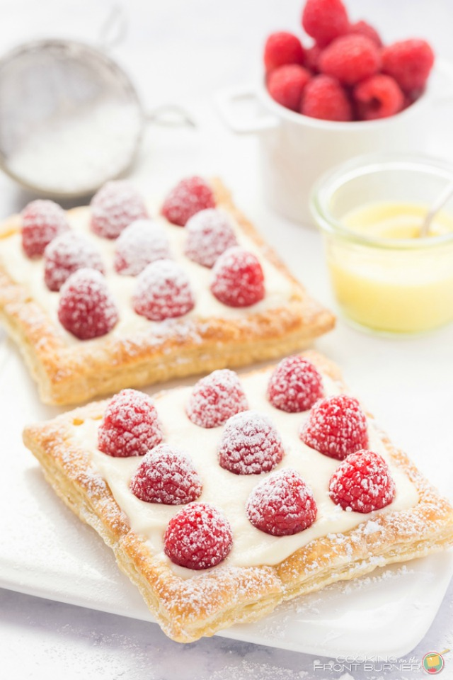 Lemon Raspberry mini Tarts