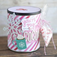 Hot Cocoa Valentine Gift