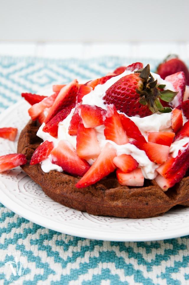 Healthy-Chocolate-Waffles-4