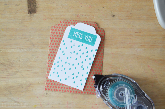 With these tools, you'll be able to create a stack of gift tags in no time, to keep on hand. Learn how at @thehappyscraps.