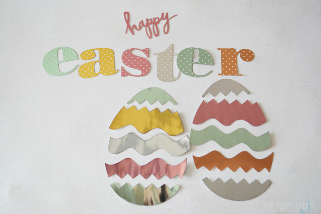 Create this stunning Foiled Happy Easter Canvas with the Heidi Swapp Minc machine and this tutorial from The Happy Scraps.