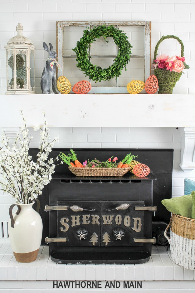 spring-mantel-with-pops-of-easter-port-15