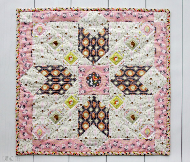 Pretty-Woodland-Fabric-Mini-Quilt