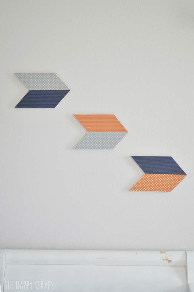 arrows-on-wall