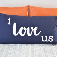 Master Bedroom Pillow – I Love Us