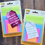 Post it Note Teacher Gift