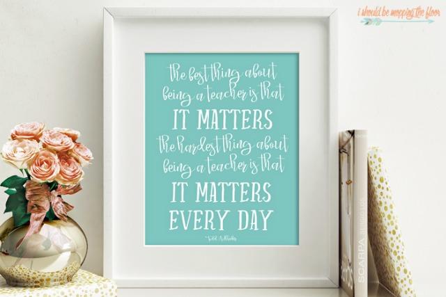 teaching matters_printable