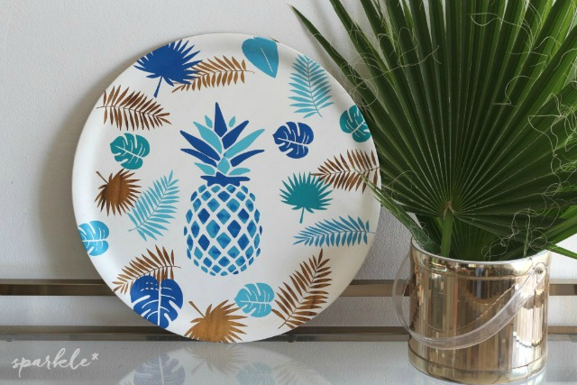 blue-pineapple-serving-tray