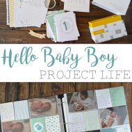 Hello Baby Boy Project Life