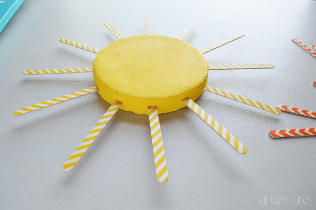 You won't believe how easy this Simple Summer Sunshine is to make. You just need a few simple supplies, and you'll have this made in no time.