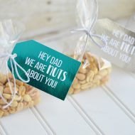 Foiled Father's Day Gift Tags