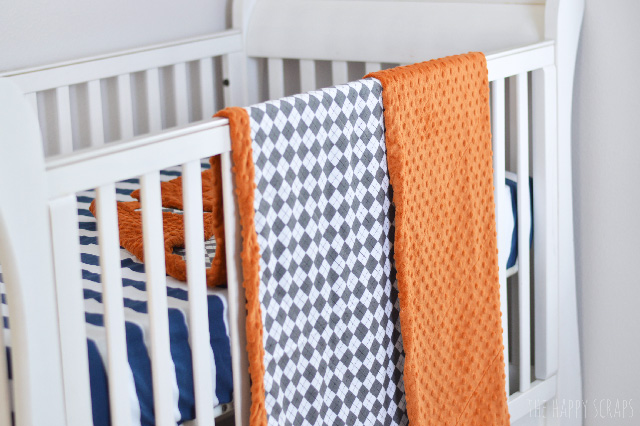 This Simple Flannel + Minky Baby Blanket is so soft and it's easy to make too. Grab your supplies and get to work. Minky is great for making baby blankets.