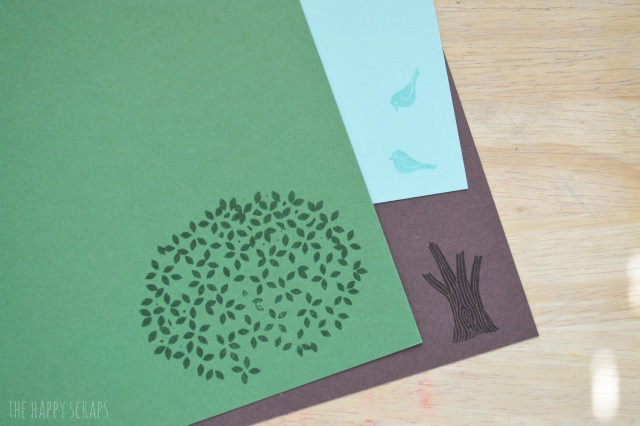 This Stamped Thoughtful Branches Card is a simple and fun one to make! Combining the stamped images with die cuts makes for a crisp looking card.