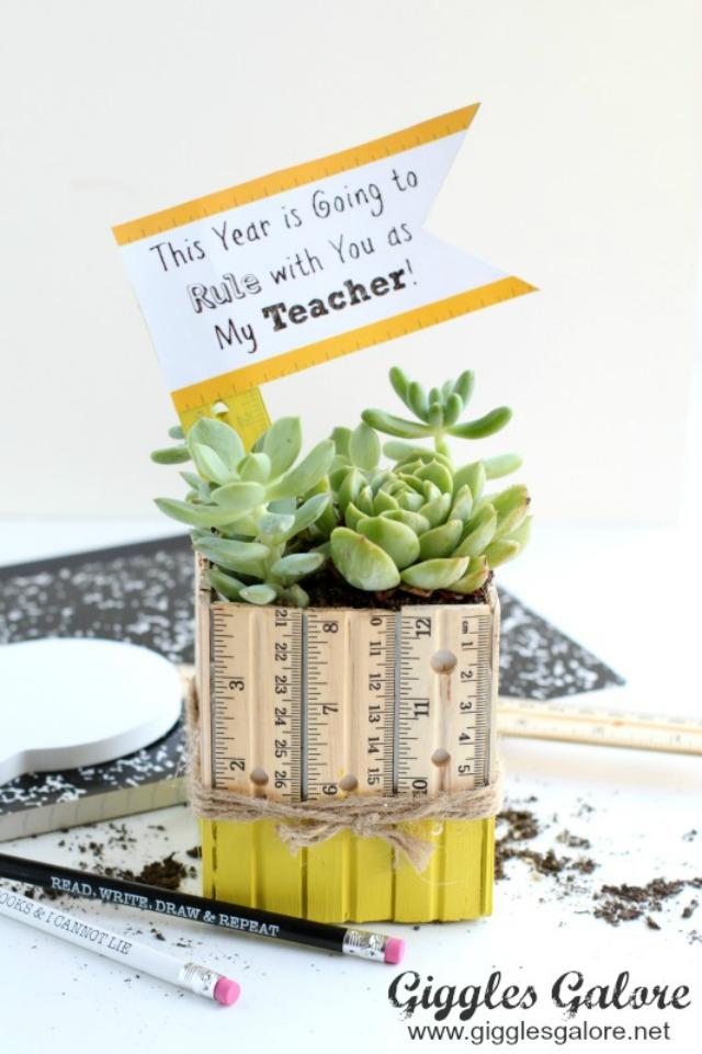 Succulent-Ruler-Planter-Teacher-Gift