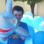 How To Create a Balloon Filled Shark Tank