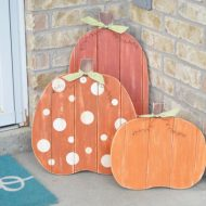 Fall Porch Pumpkins