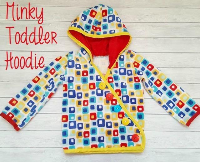 minky hoodie