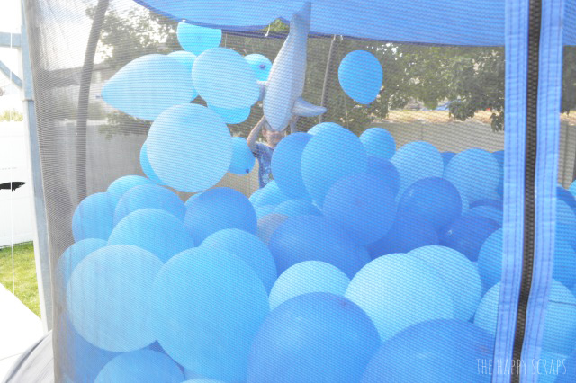 You won't believe how easy it is to create a Balloon Filled Shark Tank for a birthday party. It will create hours of fun as well!