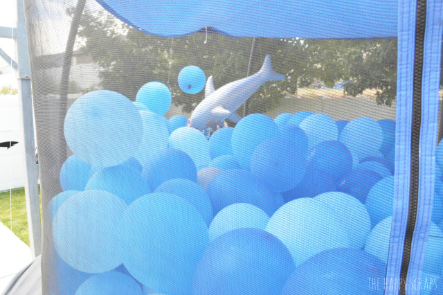 A Shark Themed Birthday Party has never been so fun! Lots of fun decor and game ideas here.