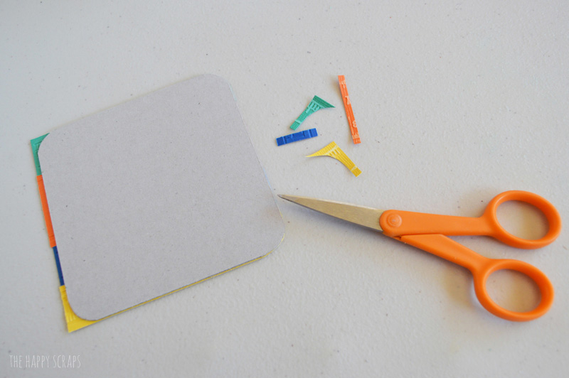 Make some DIY Back to School Coasters to give the teachers on the first day back to school.