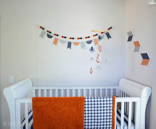 Make a mini wood banner to use for decor for any space in your home. They are easy to make + they are a quick project, and so cute!