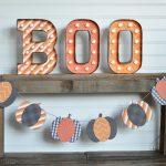 Pumpkin Halloween Banner