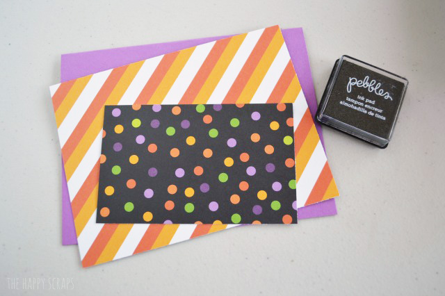 Give your friends a little treat attached to a fun card. Stop by the blog to learn how easy these Halloween Treat Cards are to make!