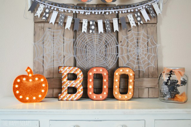 Today, I'm sharing my fun Orange, Black & White Halloween Decor. I've changed a few things up since the last couple of years. Stop by and check it out!