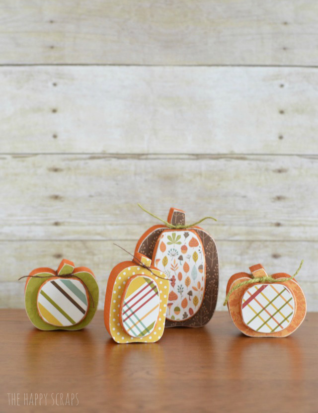 You'll have these cute little Mini Fall Pumpkins painted and finished in no time! They are perfect to display from September through November.