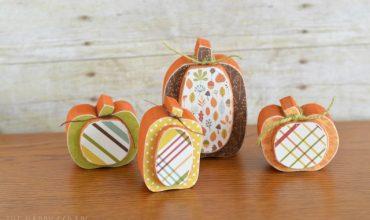 Mini Fall Pumpkins