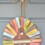 Paper Feathered Turkey with New Feathers