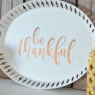 Be Thankful Tray