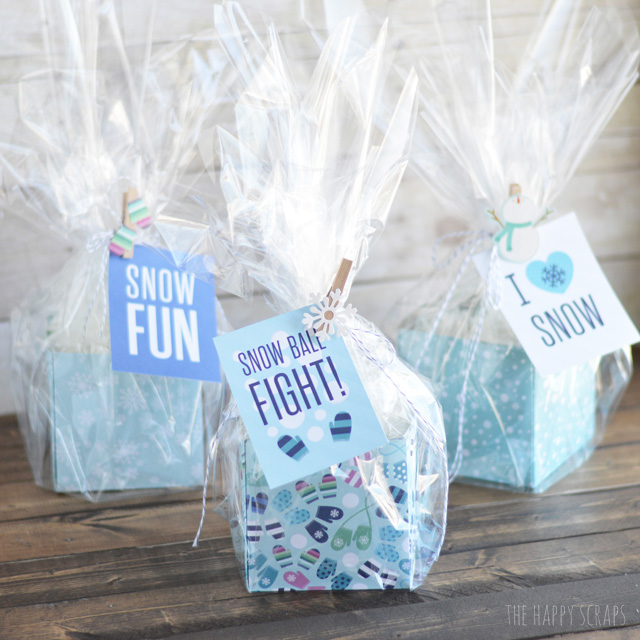 Looking for a cute and fun Neighbor Gift? Make some of these Simple Snowball Neighbor Gifts to hand out to your friends & neighbors.
