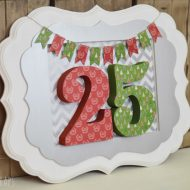 Whimsical Framed Christmas Decor