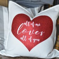 Valentine's Day Pillow