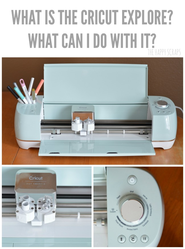 Ever wonder what the Cricut Explore Air 2 Machine is and what you can do with it? I'm sharing all about it, and why you need a Cricut Explore Machine!