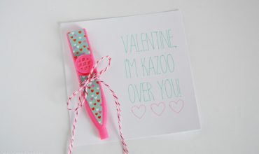 Valentine, I'm Kazoo Over You – Non-Candy Valentine